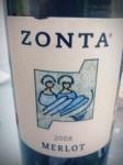 Zonta Merlot 2008