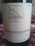 Kellerei Cantina Terlan Gewurztraminer Sudtirol - Alto Adige DOC 2011