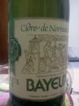 Cidre de Normandie Bayeux Doux